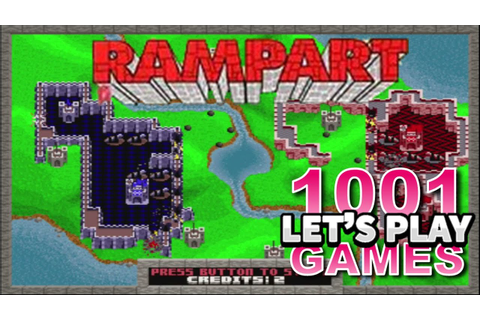 Rampart (Arcade) - Let's Play 1001 Games - Episode 83 ...