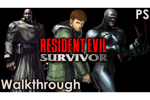 Resident Evil Survivor Walkthrough - YouTube