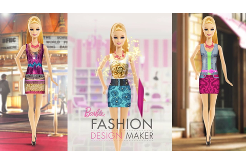 Barbie Fashion Design Maker: Free Android + iPad Game App ...