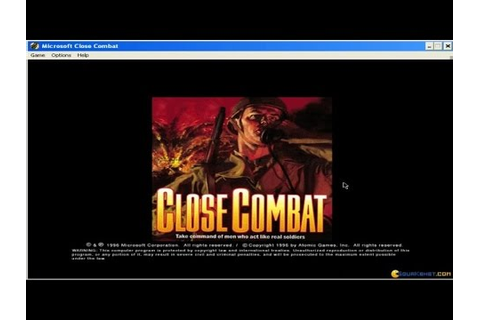 Close Combat gameplay (PC Game, 1996) - YouTube