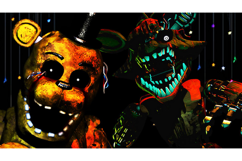 NIGHTMARE MODE COMPLETE | Five Nights at Freddy's 3 - Part ...