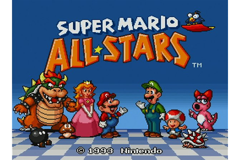 Super Mario All-Stars Wii Screenshots and Trailer