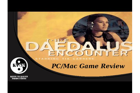 The Daedalus Encounter - PC/Mac Game Review - YouTube
