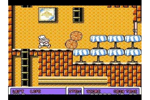 CGRundertow PANIC RESTAURANT for NES Video Game Review ...
