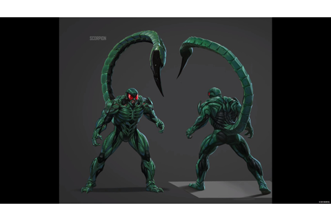 SPIDER-MAN PS4 Concept Art Focuses On The Sinister Six And ...