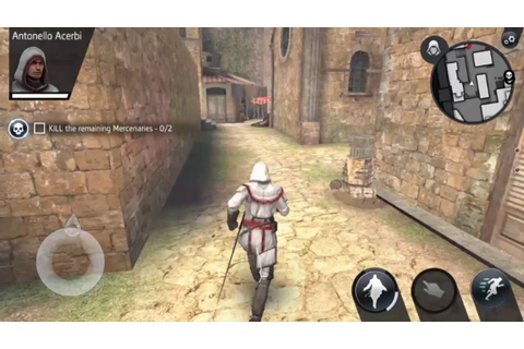 Assassin's Creed Identity Android Gameplay Part 1 - YouTube
