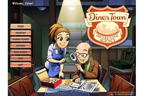 DinerTown Detective Agency | GameHouse