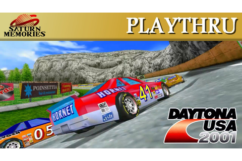 Daytona USA 2001 [Dreamcast] by SEGA [HD] [1080p60] - YouTube