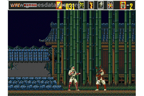 Revenge of Shinobi, The - Sega Genesis - Games Database