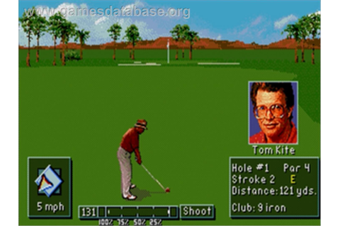 PGA Tour Golf 3 - Sega Nomad - Games Database