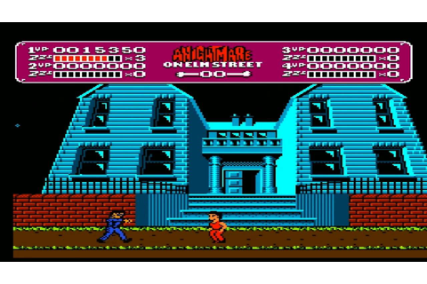 A Nightmare On Elm Street - Nintendo - The Game Actually ...