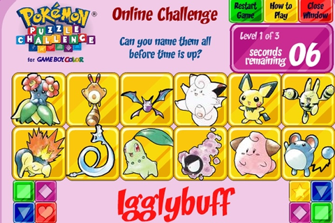 Pokemon Puzzle Challenge Game - Pokemon games - Games Loon