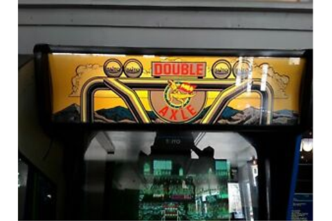 Double Axle by Taito Video Arcade Game | eBay