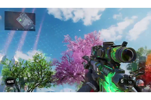 NEW COSMIC CAMO IN BO3!!! - YouTube