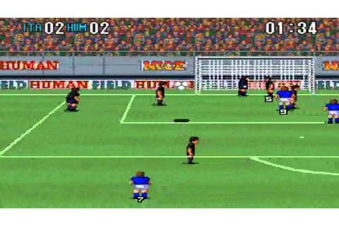 Super Formation Soccer 2 : Italy Vs Human - YouTube
