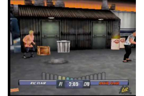 WCW Backstage Assault N64 Gameplay Video - YouTube