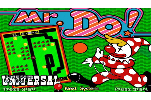 Mr. Do! (Arcade) - YouTube