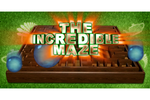 The Incredible Maze Cover Artwork