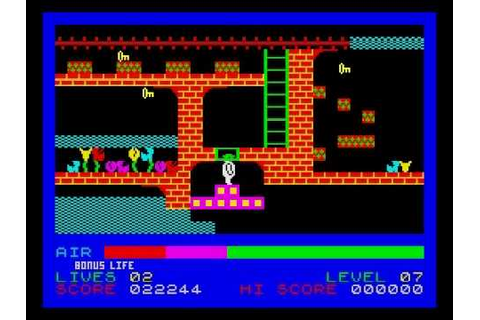 Son of Blagger Walkthrough, ZX Spectrum - YouTube