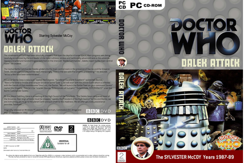 My Doctor Who Covers!: Old Games Collection.