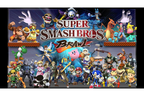 Super Smash Bros Brawl (Game Play) Luchando y perdiendo ...