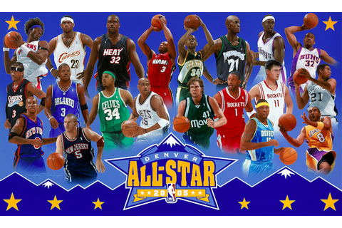 2005 NBA All-Star Game Basketball Painting | 2005 NBA All ...
