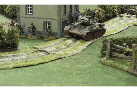 Volley Fire Painting : Introduction to Battlegroup