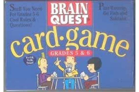 Amazon.com: Brain Quest Card-Game, Grades 5-6: Toys & Games