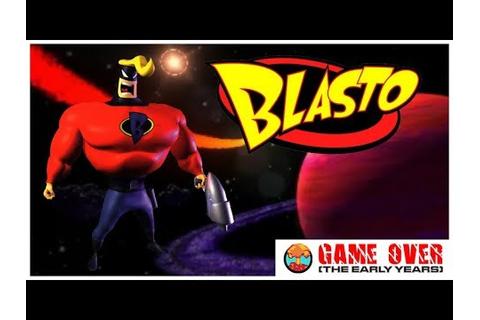 Game Over: Blasto (PlayStation) - Defunct Games - YouTube