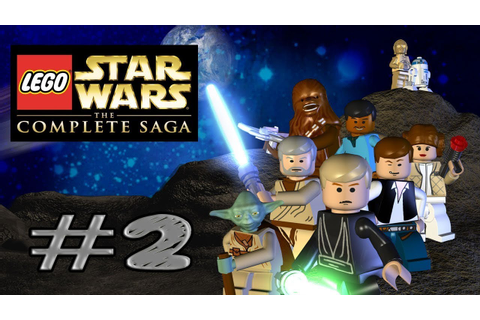 LEGO Star Wars: The Complete Saga part 2 - YouTube