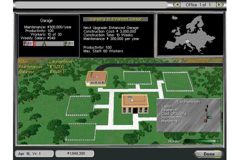 Entrepreneur Download (1997 Strategy Game)