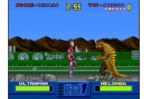 Ultraman game - YouTube