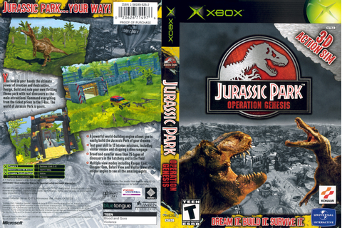 Jurassic Park: Operation Genesis 2 Now! | The Red Rings of ...
