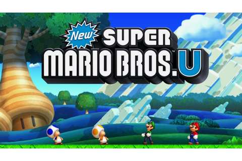New Super Mario Bros. U Worlds 1 - 9 Full Game (100% ...
