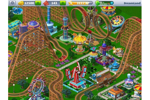 RollerCoaster Tycoon 4 Mobile : VIP Mod : Télécharger APK ...
