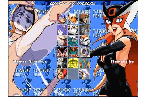 Tatsunoko Fight 2 Mugen Game Download & Gameplay - YouTube