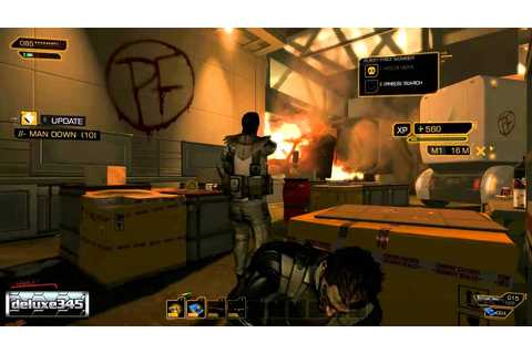 Deus Ex: Human Revolution Gameplay (PC HD) - YouTube