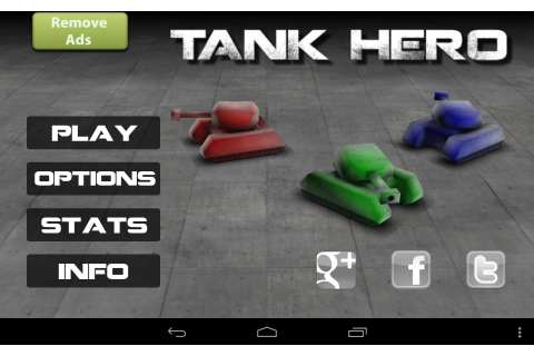 Tank Hero – Games for Android – Free download. Tank Hero ...