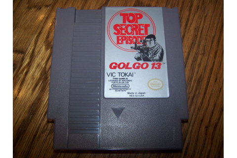 Super Nintendo Top Secret Episode Golgo 13 Game ...