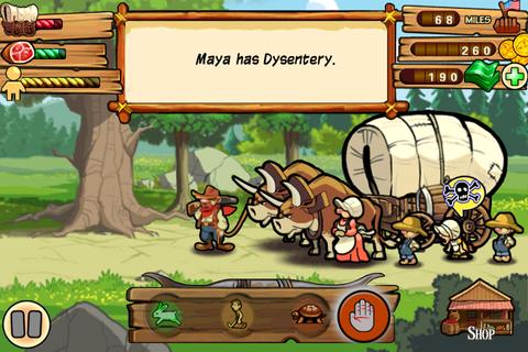 Gameloft | The Oregon Trail
