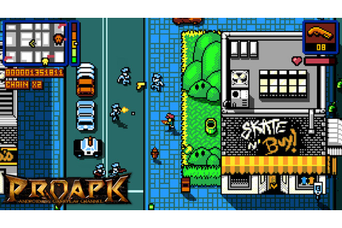 Retro City Rampage DX Gameplay iOS / Android - YouTube