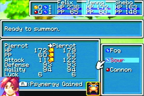 Golden Sun: L'âge Perdu Game Boy Advance Screenshots ...