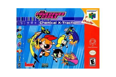 The Powerpuff Girls: Chemical X-Traction - Nintendo 64 game