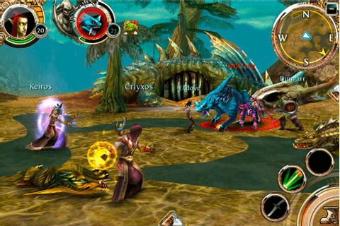 'Order & Chaos' is Gameloft's WoW-Like MMORPG for iOS ...