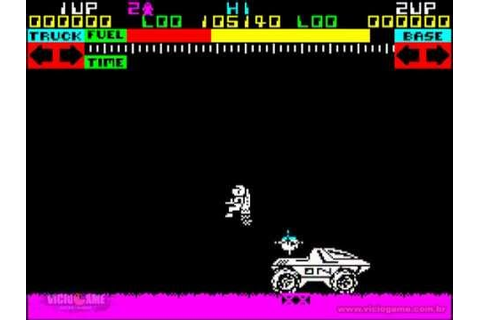 Lunar Jetman - ZX Spectrum - Gameplay - YouTube