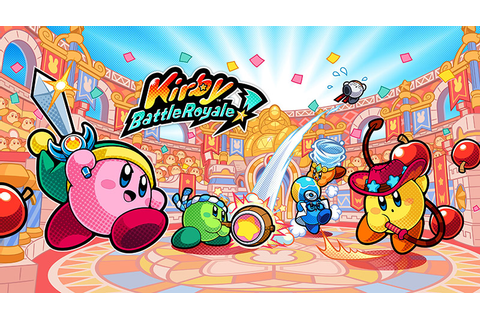 Kirby: Battle Royale Announced For Nintendo 3DS | Handheld ...