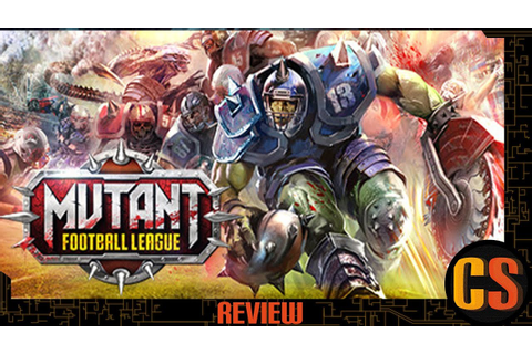 MUTANT FOOTBALL LEAGUE - REVIEW - YouTube