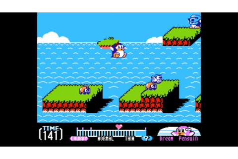 Yume Penguin Monogatari (NES) - YouTube