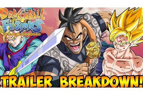 NEW DRAGON BALL Z GAME! Dragon Ball Fusions (3DS):Trailer ...