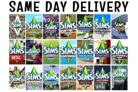 Sims 3 Expansions Stuff Packs Origin Keys [PC/Mac] | eBay